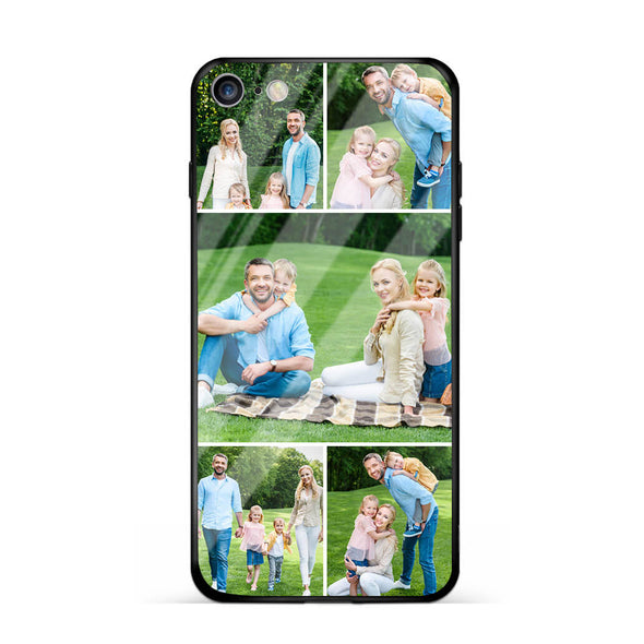 Custom Photo Protective iPhone Case Five Pictures