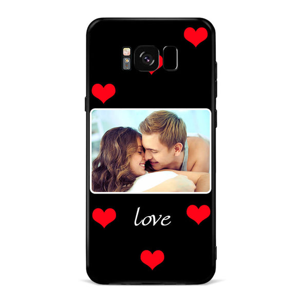 Custom Lover Photo Protective Phone Case for Samsung