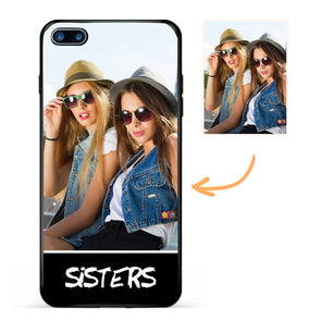 Custom Sisters Photo Protective iPhone Case