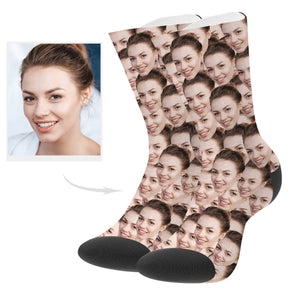 Custom Made Face Socks