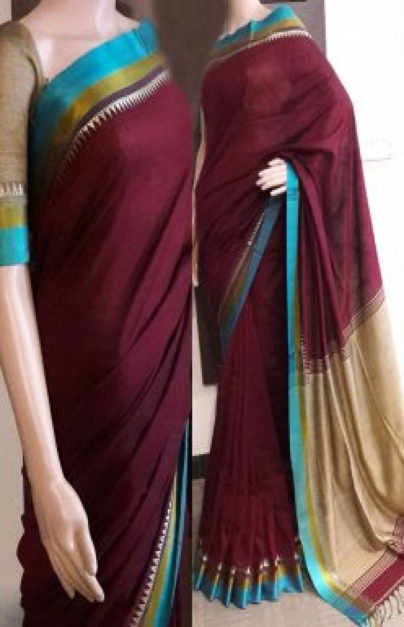 Stylish Multi Color Soft Silk Saree - cnd727