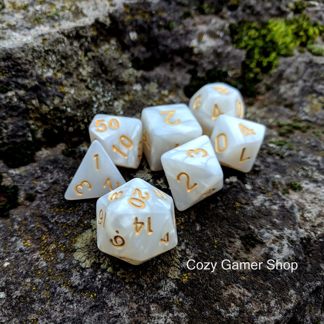 Pearly Dice Sets