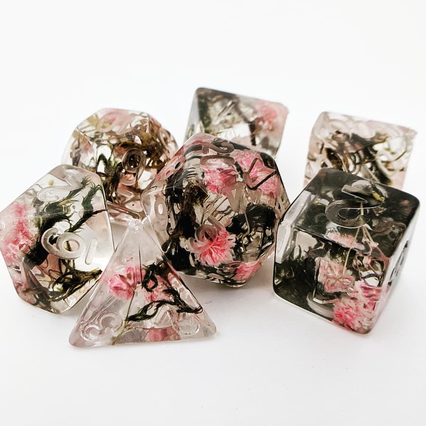 Floral and Plant Dice Sets