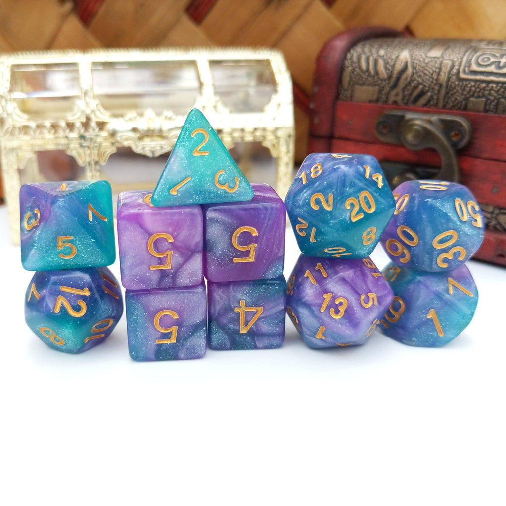 11 Piece Dice Sets