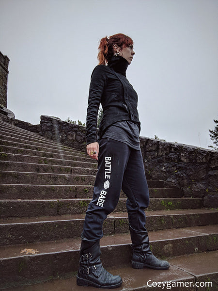 Battle Babe D20 Joggers, TTRPG Sweatpants