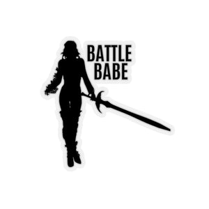 Battle Babe Kiss-Cut Stickers