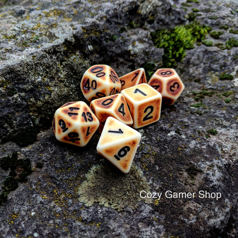 Ancient Bones Dice Set