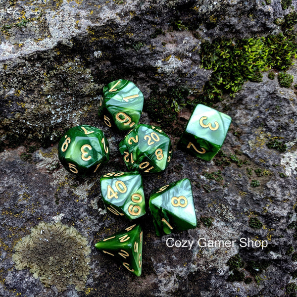 Archer's Dice Set-Dice sets-CozyGamer
