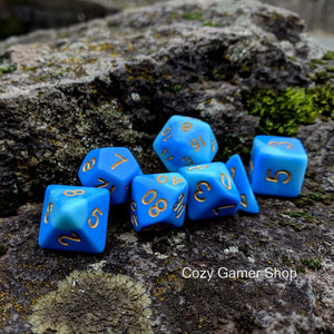 Wizard's Robes Dice Set