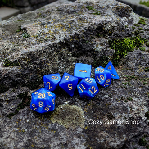 Ocean Deep Dice Set