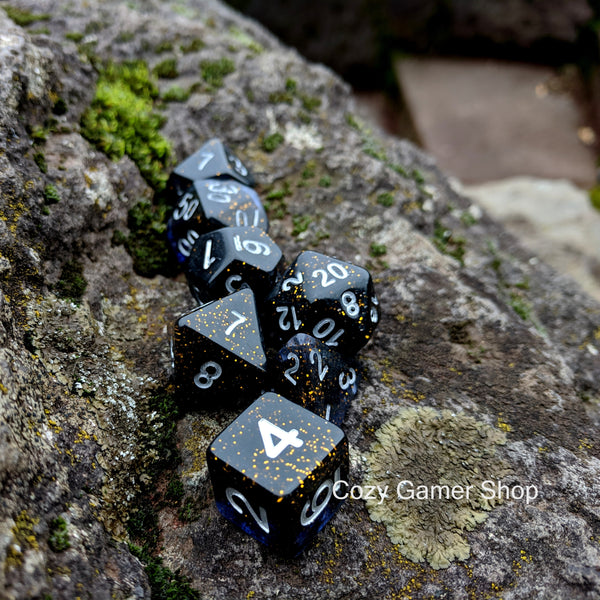 Wizard Orb Dice Set
