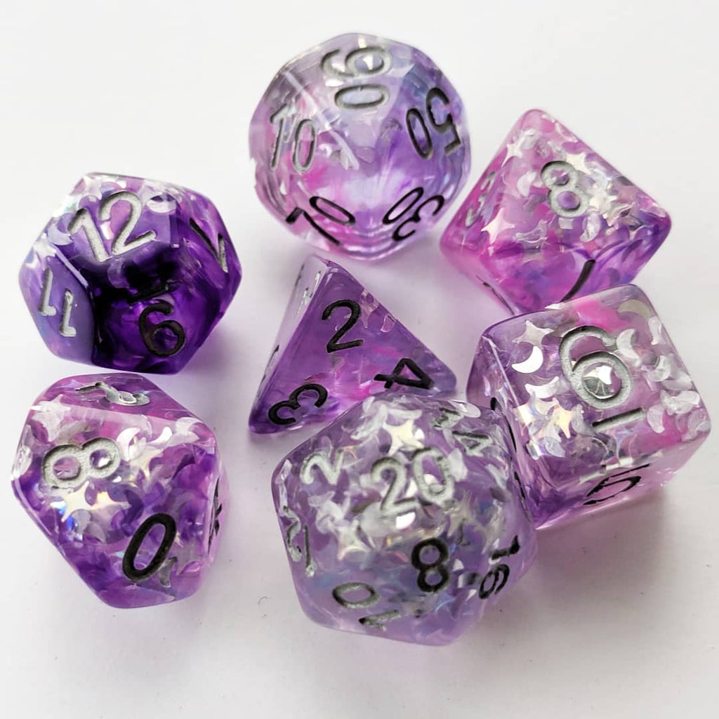 Flawed Dice Sets! Discount Cozygamer Originals - CozyGamer
