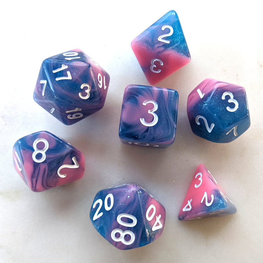 Miami Vice Dice Set - CozyGamer