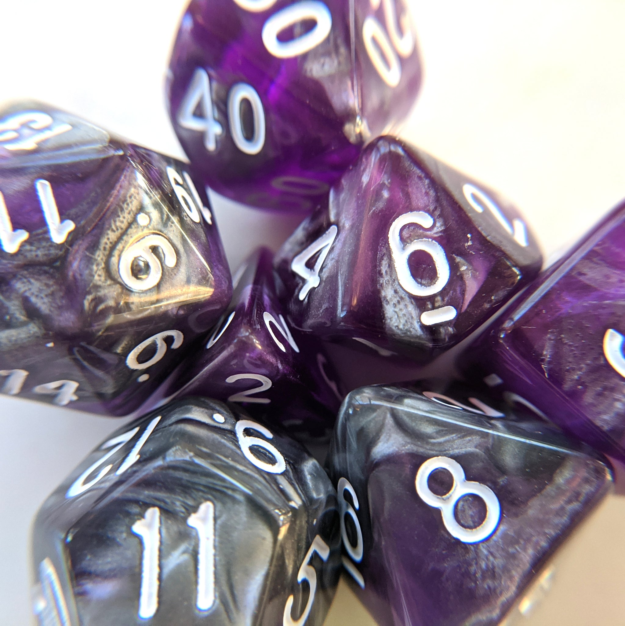Dark Crystal Dice Set