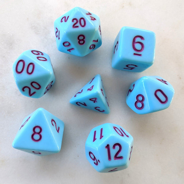 Blue Jay Dice Set