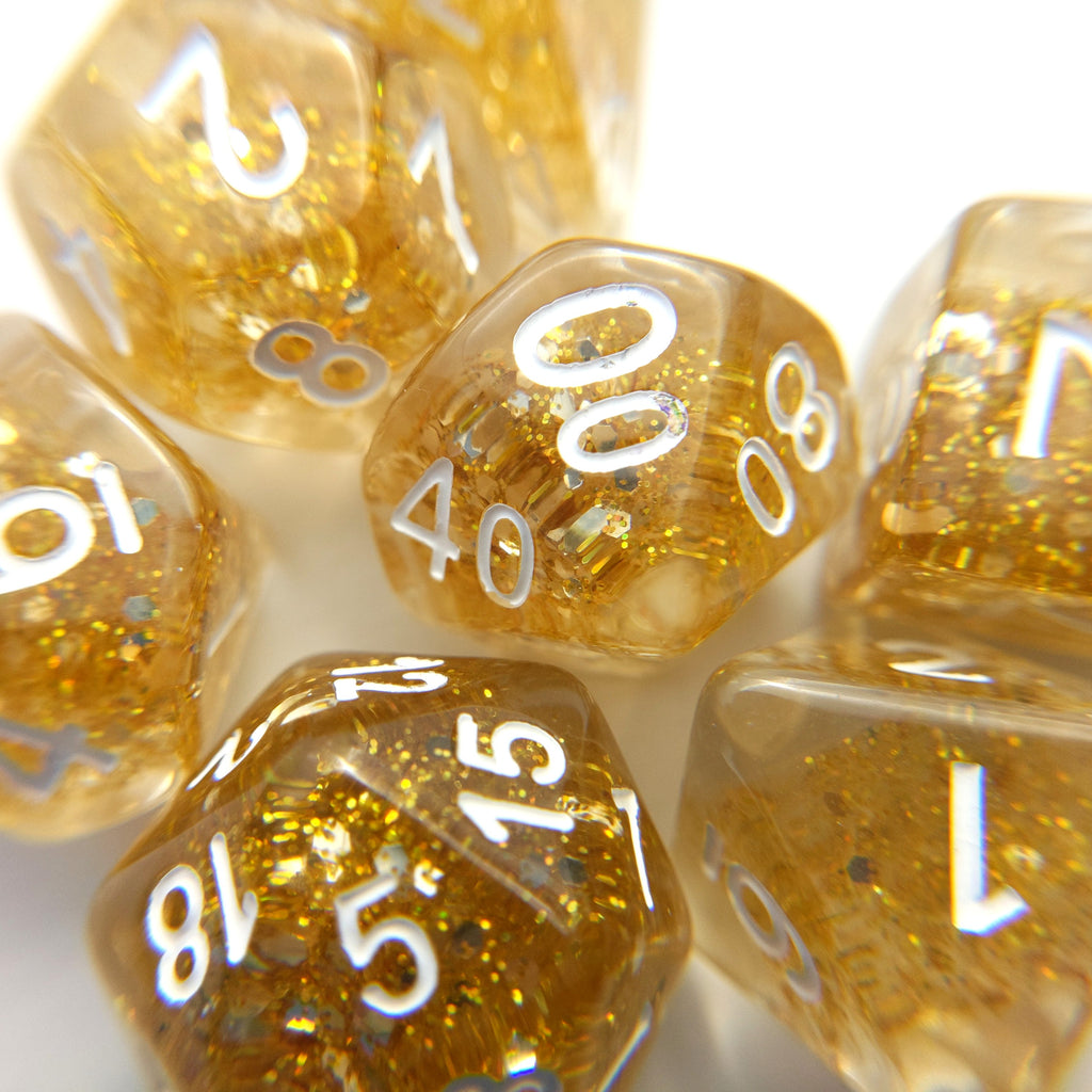 All That Glitters Dice Set - CozyGamer