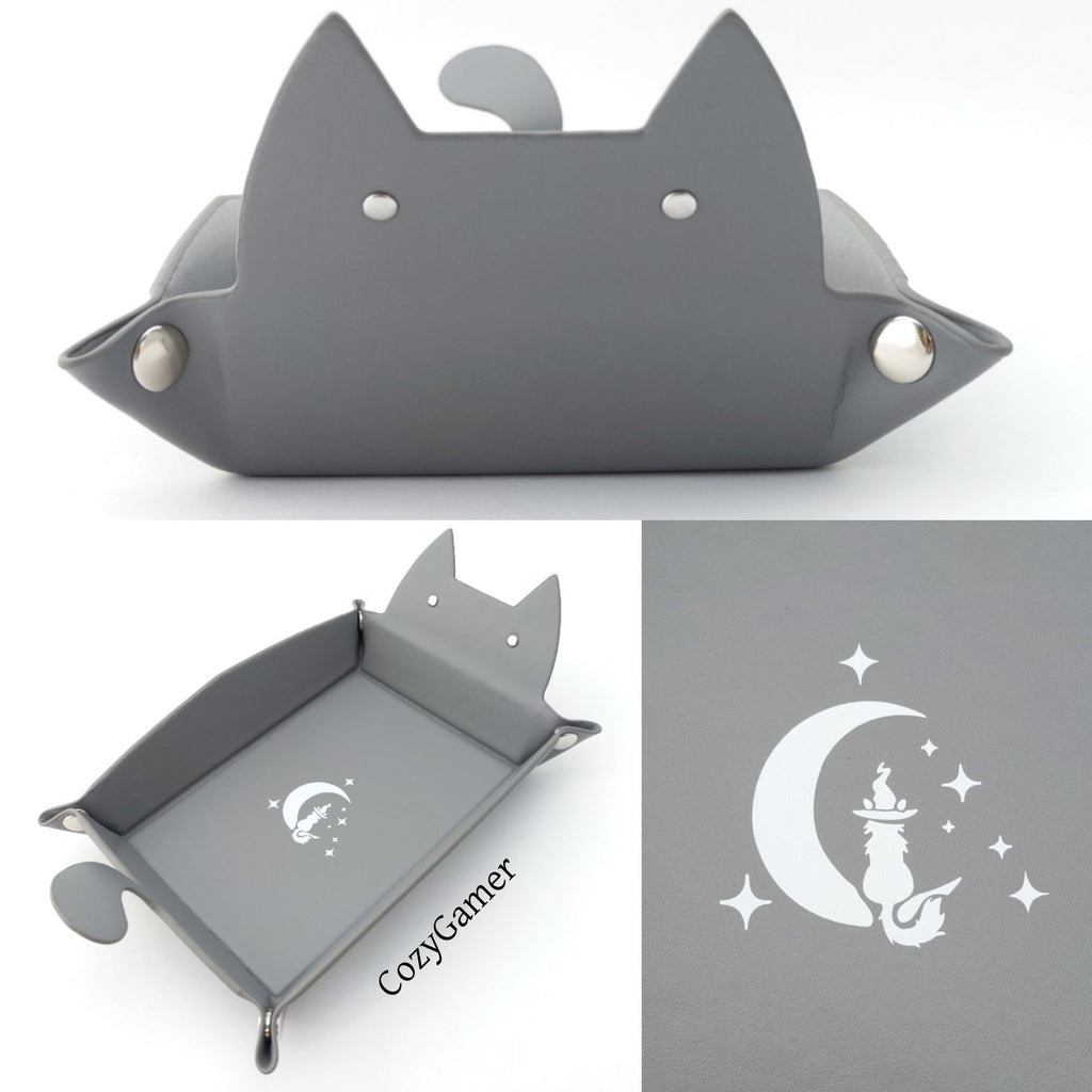 Cat Dice Rolling Tray by CozyGamer - CozyGamer