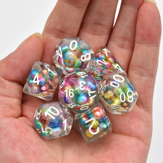 Candy Pearl Dice Set - CozyGamer