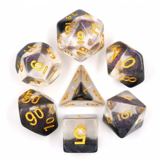Crystal Ice Dice Set - CozyGamer