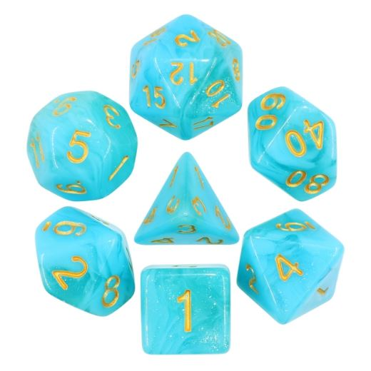Atlantis Dice Set - CozyGamer