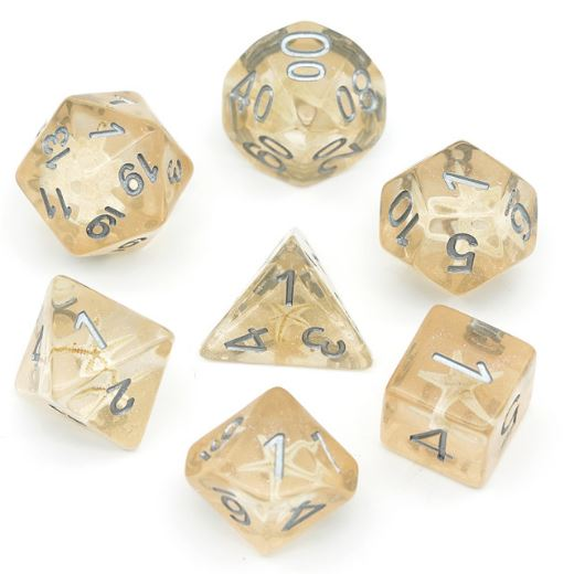 Starfish in the Sand Dice Set - CozyGamer