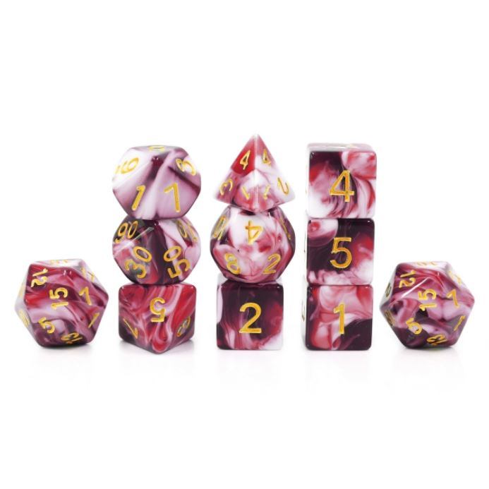 11 Piece Battle Mage's Dice Set. - CozyGamer