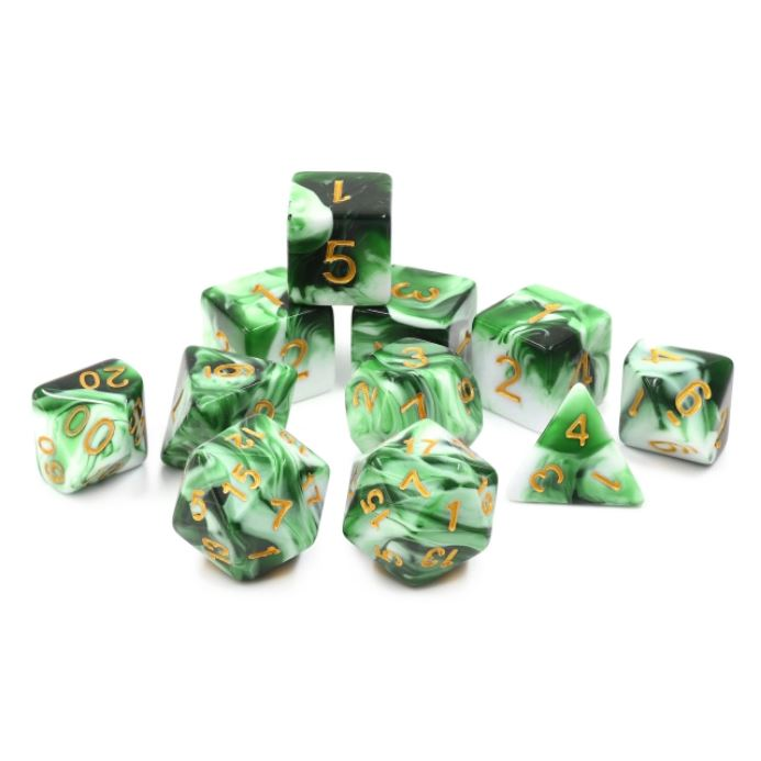 11 Piece Volley Dice Set. - CozyGamer