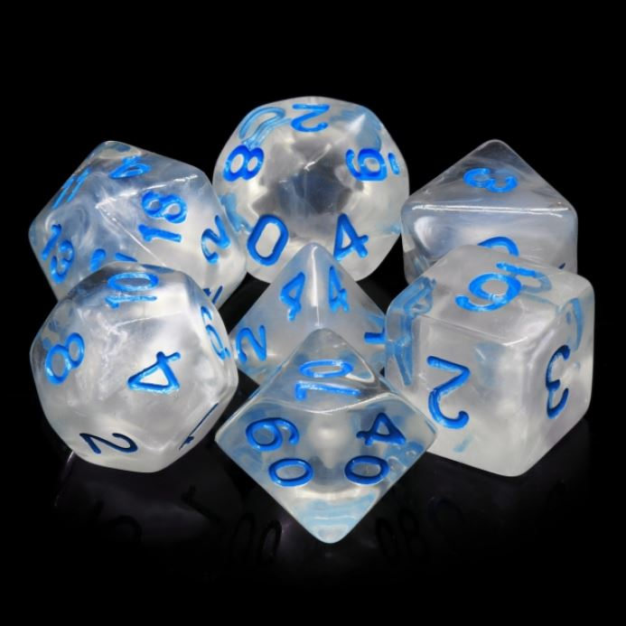 Winter's Waltz Dice Set - CozyGamer