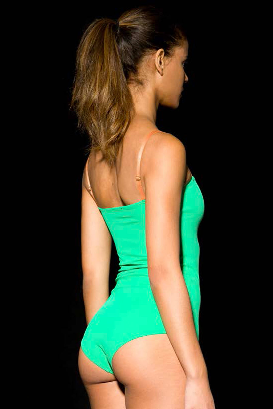 Swimsuit green SIGHTLINE