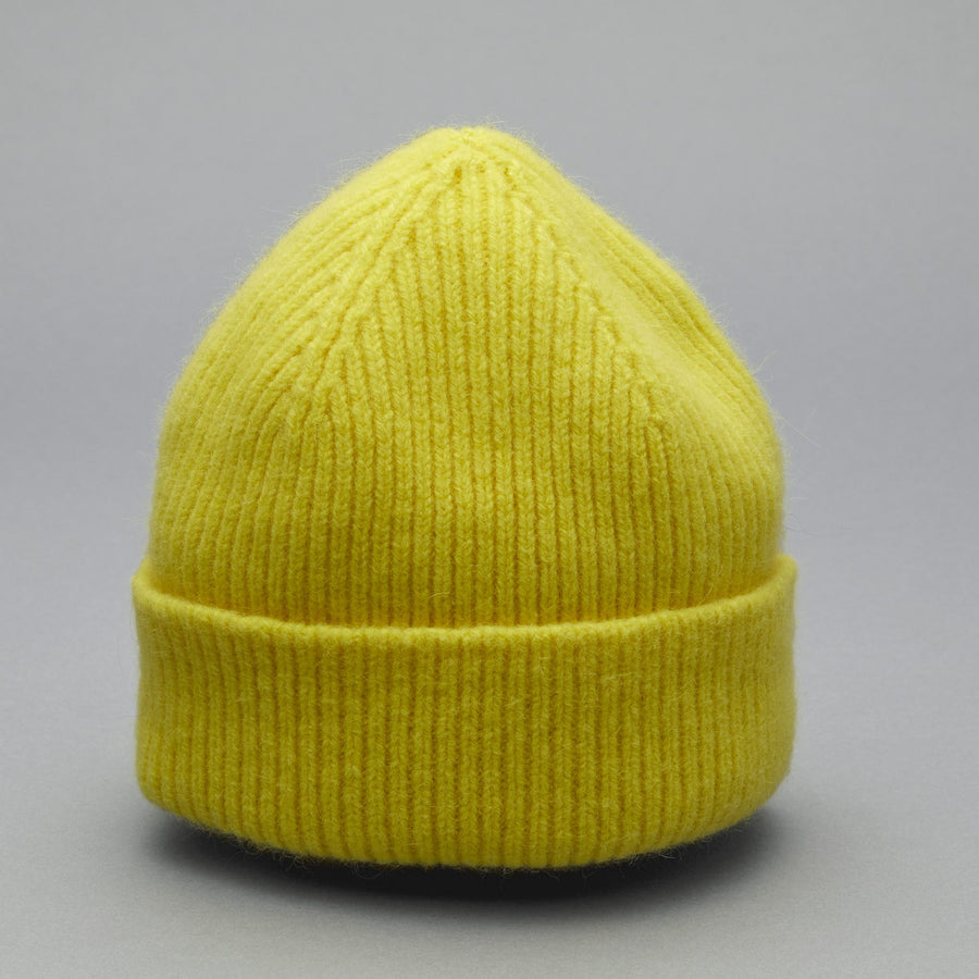 BEANIE acid yellow - Le Bonnet