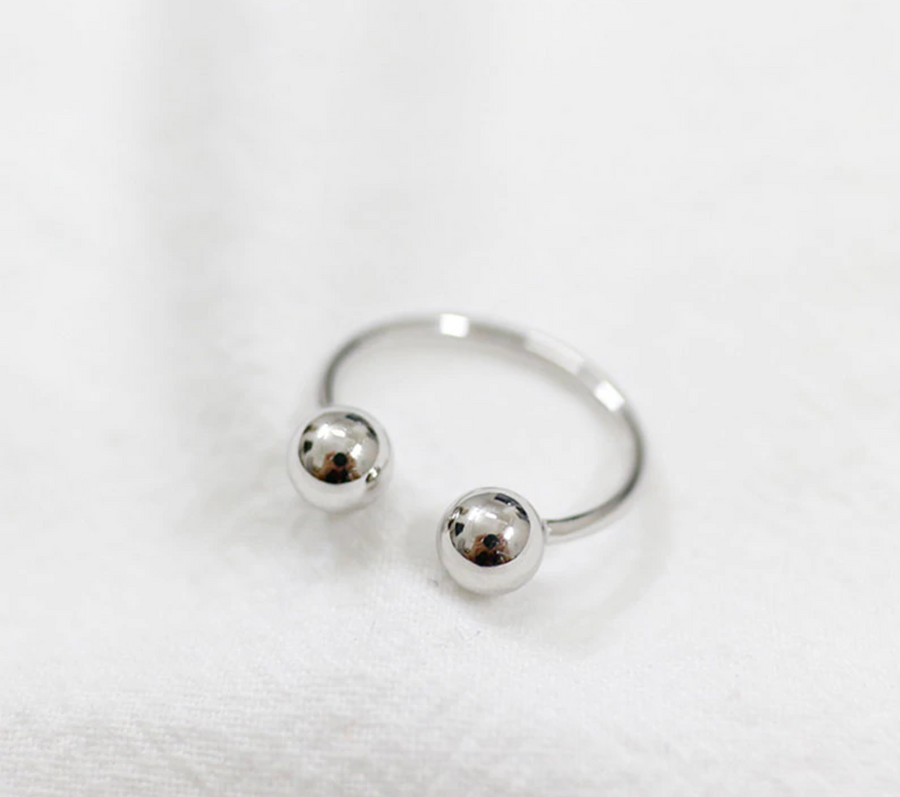 ball ring silver SELECTED BY SIGHT
