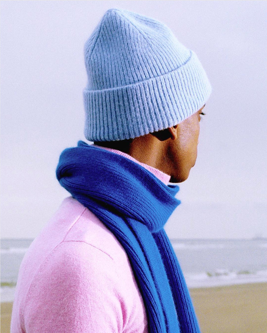 Beanie light blue sky LE BONNET