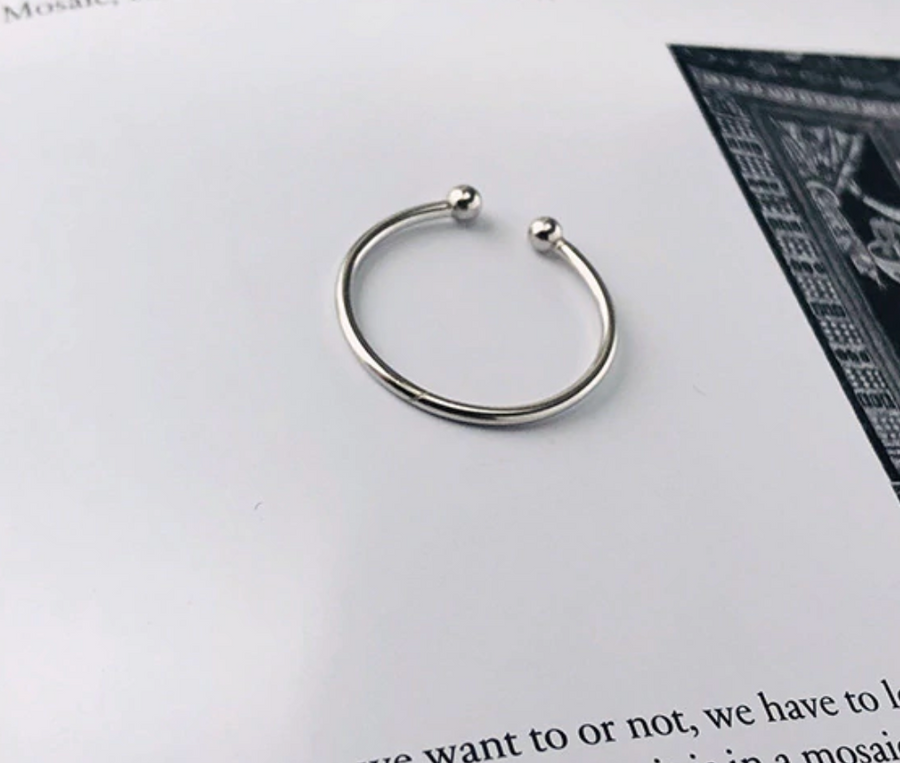 small ball ring SELECTED BY SIGHT