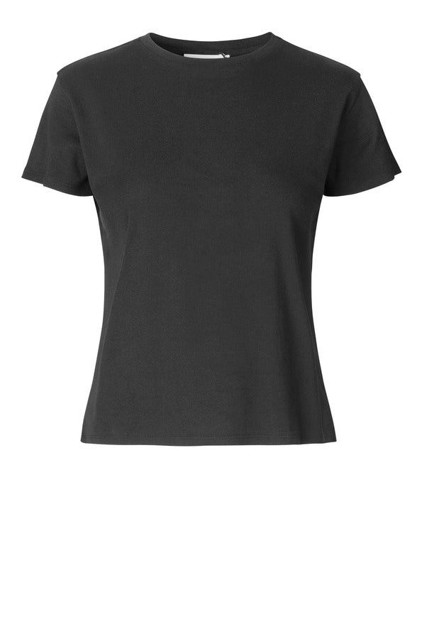 Cash Tee, black - JUST FEMALE
