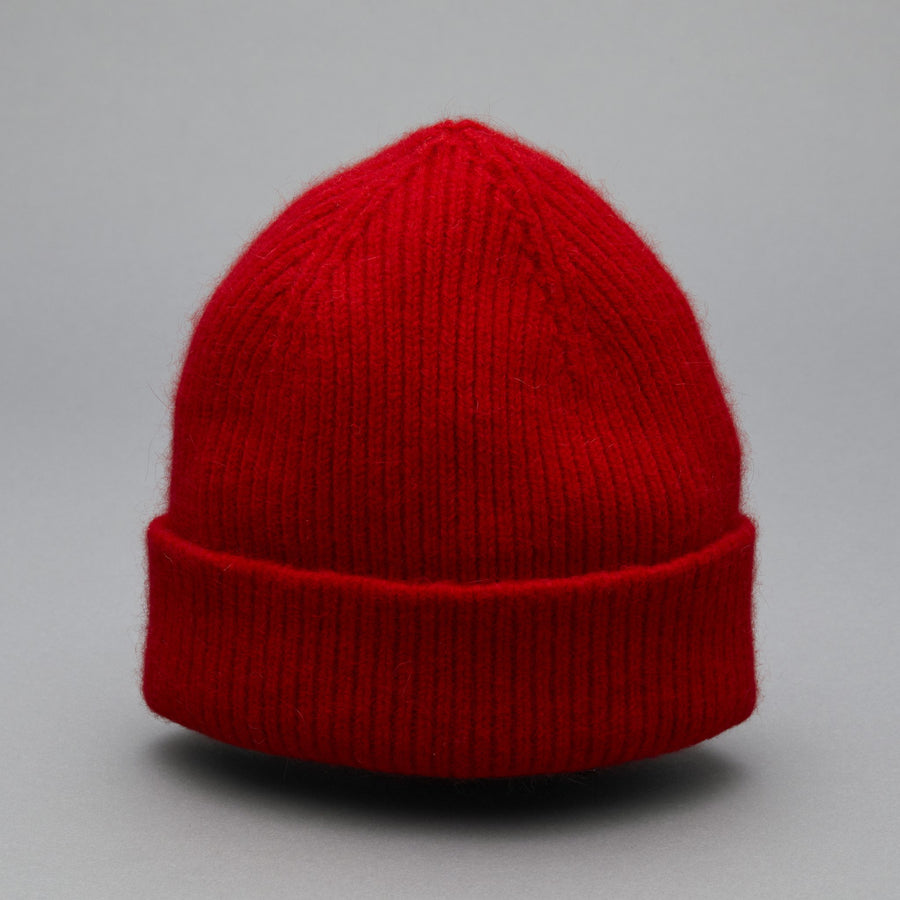 BEANIE crimson red - Le Bonnet