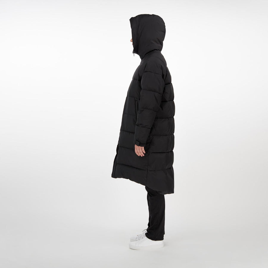Meera Puffer Coat Black Oversize MAKIA