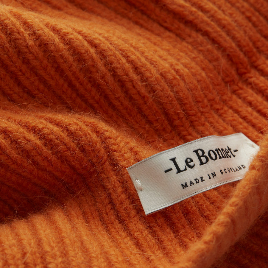 Beanie flame orange LE BONNET