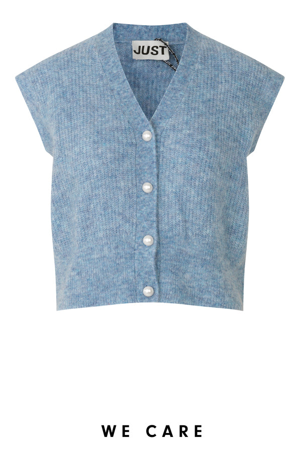Girona Mohair Knit Vest JUST FEMALE