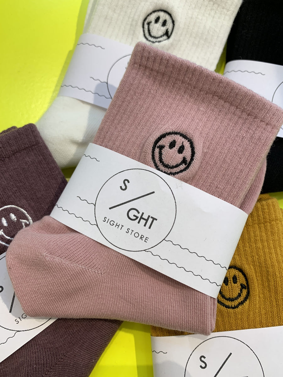Smiley SOCKS - rosé