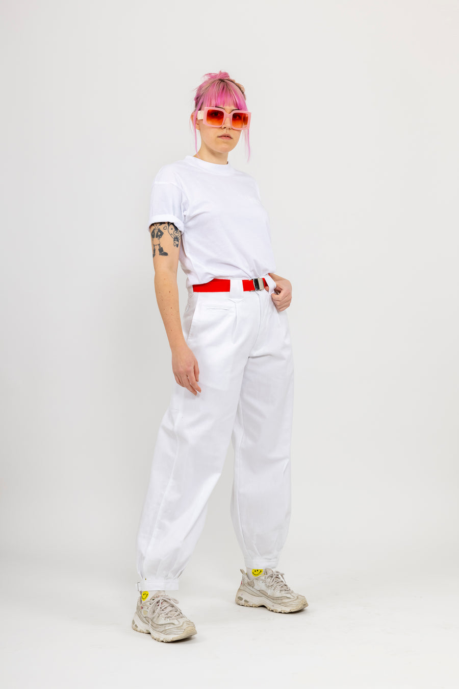 Japanese Workwear Pants - white
