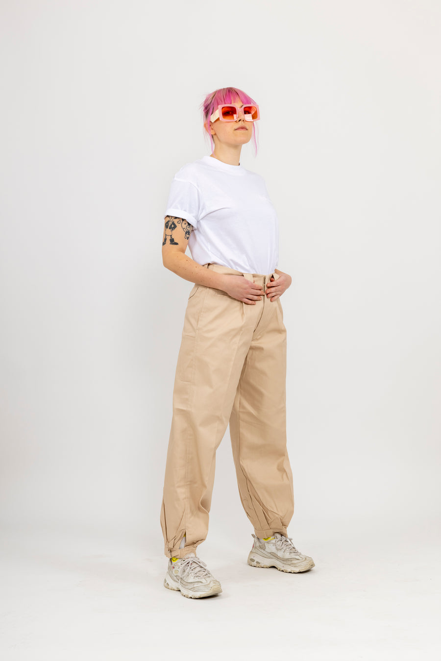 Japanese Workwear Pants - fawn
