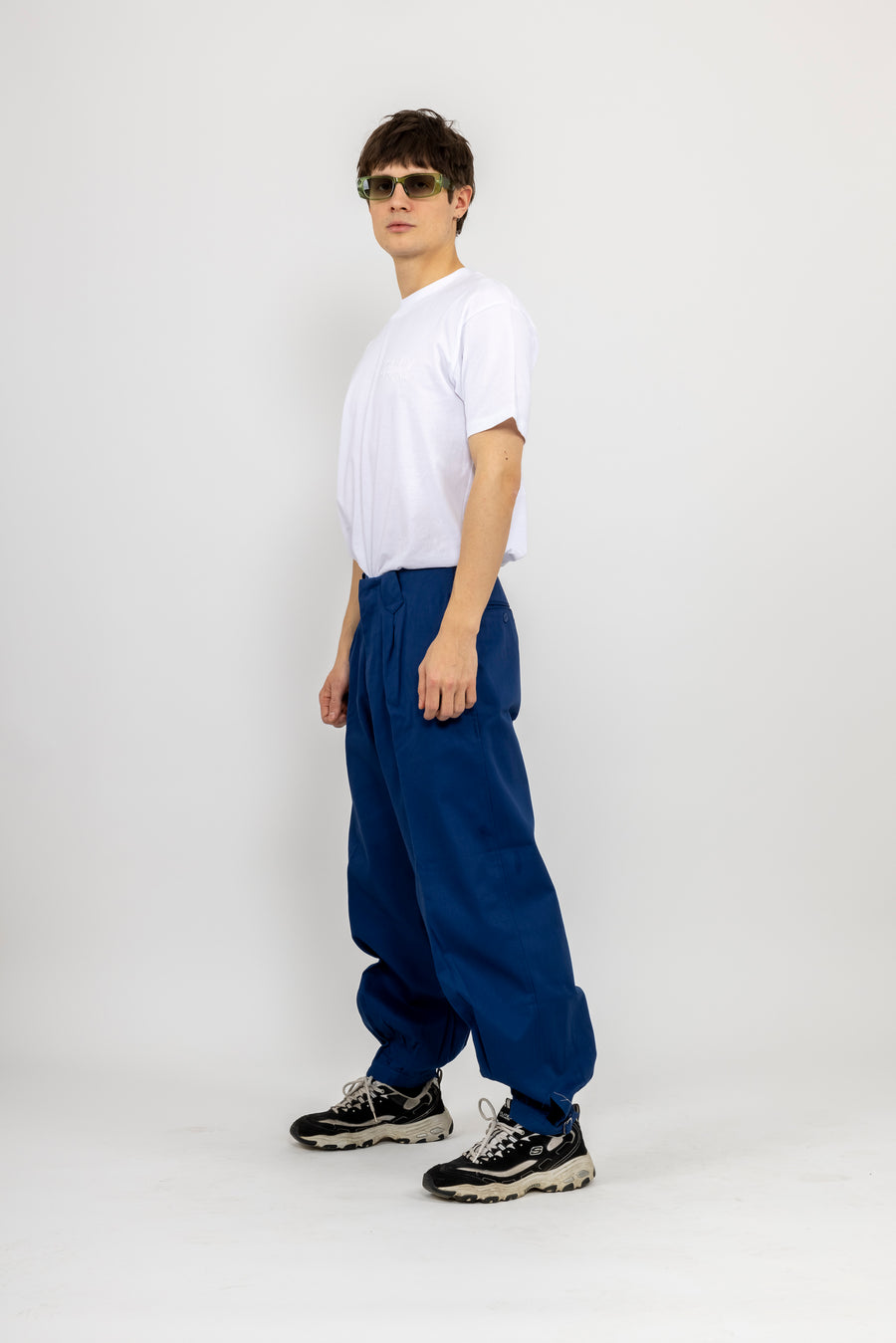 Japanese Workwear Pants - navy