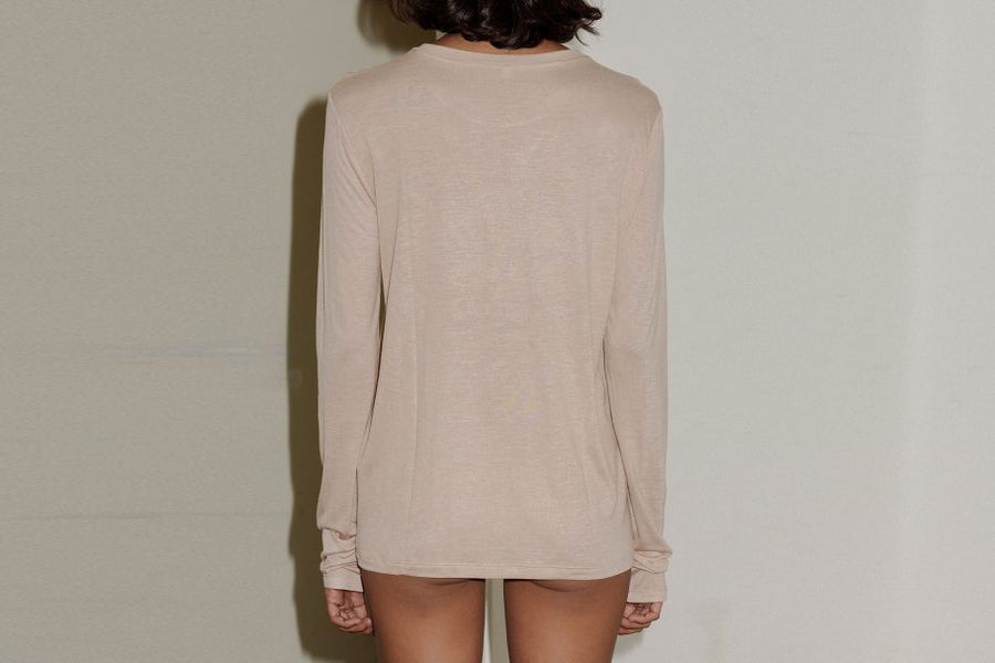 Loose Long-sleeve-shirt BASERANGE