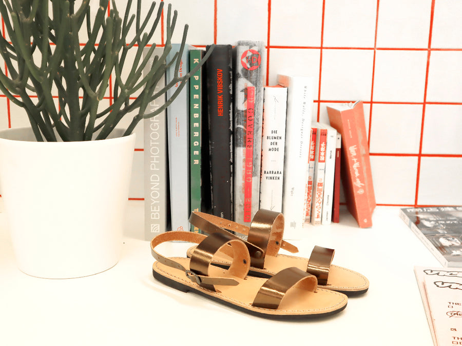 Sandals Copper SELECTED BY SIGHT