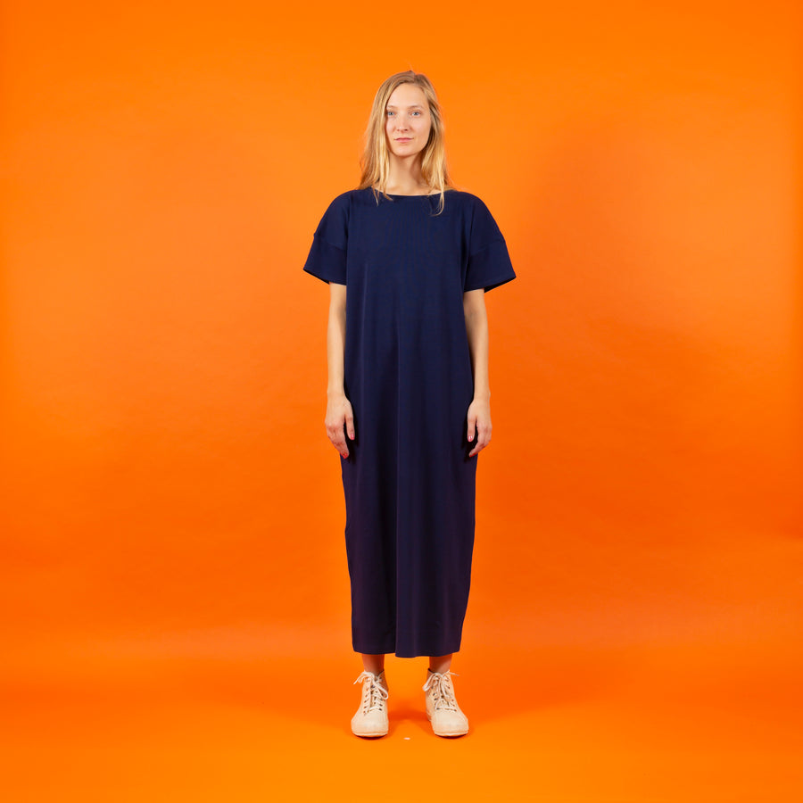 T-Shirt Dress blue SIGHTLINE