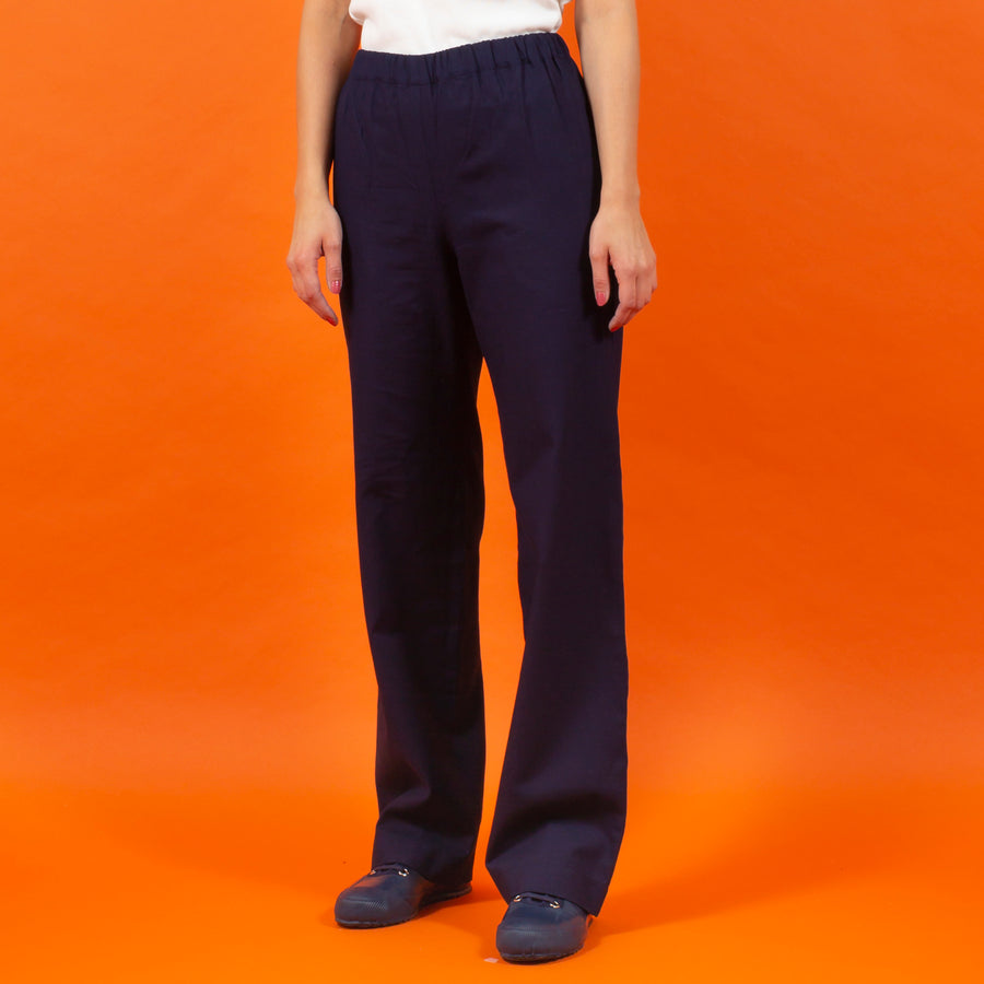 Straight Pants dark blue SIGHTLINE