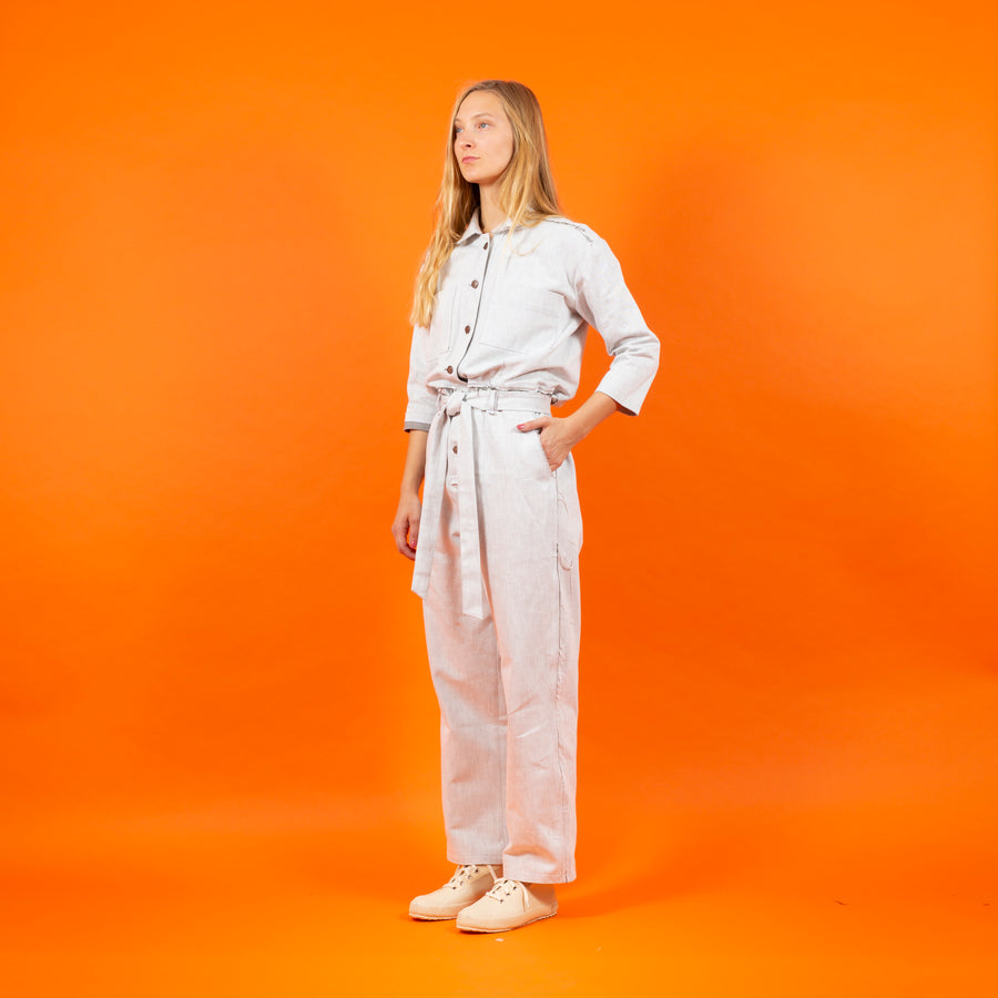 Jumpsuit Japan Denim White SIGHTLINE