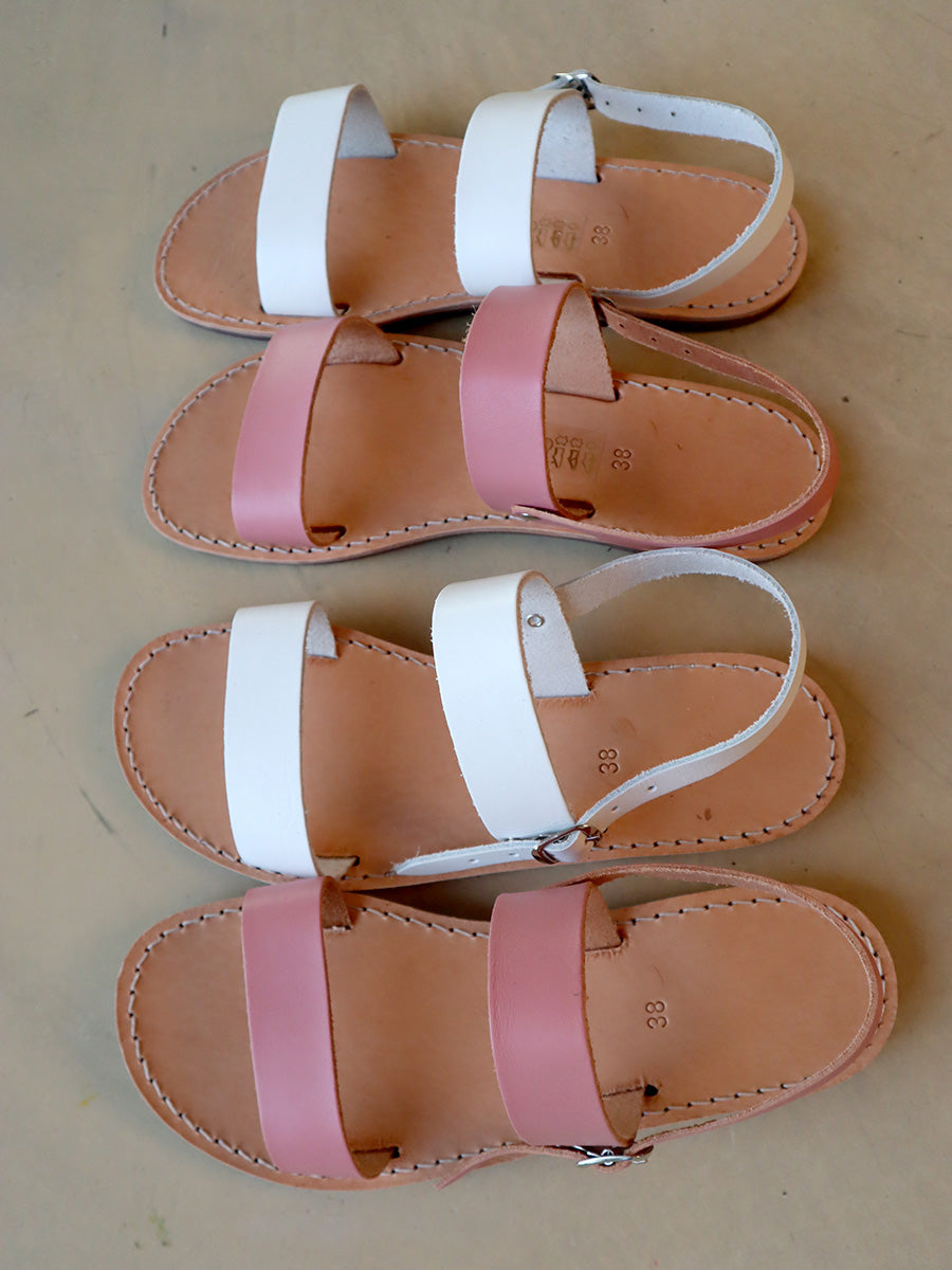 Sandals PINK SELECTED BY SIGHT