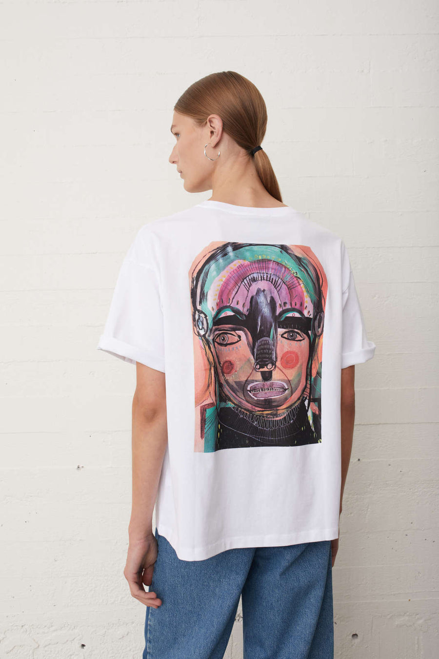 Sjulle Print Tee JUST FEMALE