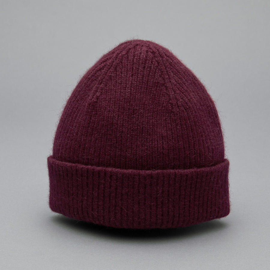 BEANIE wine red - Le Bonnet